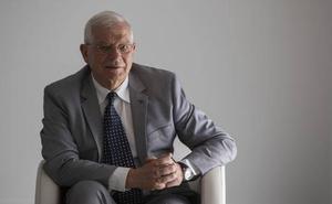 Josep Borrell: «La UE es lenta pero la alternativa sería la guerra»