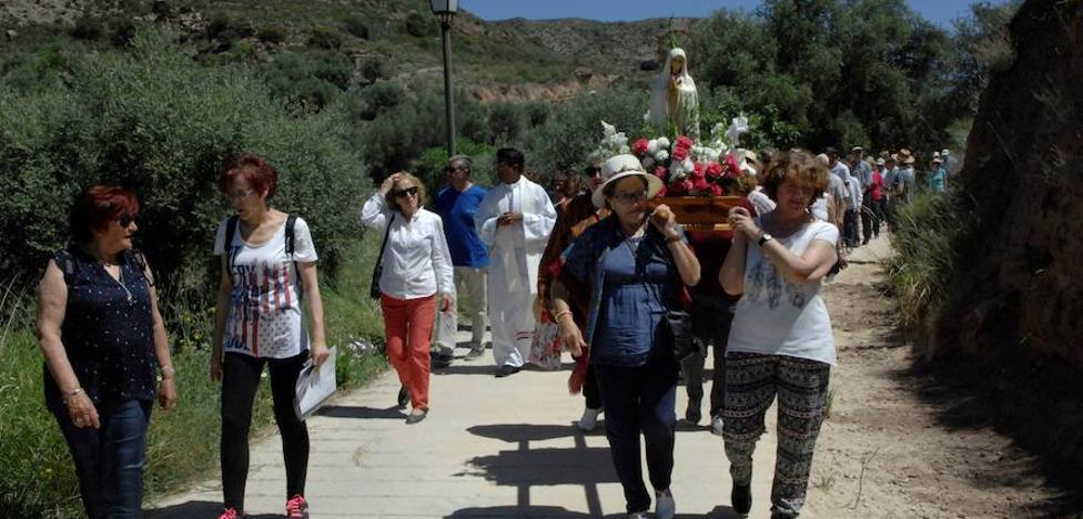 Los montenegreros celebran sus fiestas patronales en honor a la Virgen de Fátima