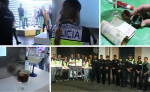 Una noche entre denuncias, copas y cocaína en Jaén
