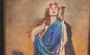 Rajan un cuadro cuya retirada pedían por «ofensa» al sentimiento religioso