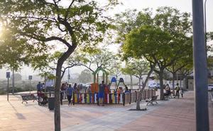 Acaban las obras del parque de Villa María, que estrena zona de juegos