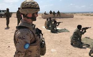 Militares europeos de la operación EUTM Somalia adiestran a más de 6.000 soldados somalíes