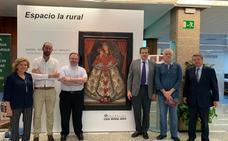La Fundación Caja Rural restaura un lienzo de la Virgen de las Mercedes