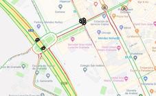 Varias averías en numerosos semáforos de la salida de Méndez Núñez colapsan la A-44