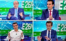 Lo que se dijeron, y lo que no se dijeron, los candidatos a la alcaldía de Granada en el debate a cuatro