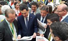 Los «tres retos» del ministro en la apertura de puertas de Expoliva