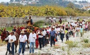 Almuñécar procesionará este domingo a San Isidro en la tradicional romería de Torrecuevas