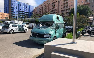 Uno de los heridos a un guardia civil: «Busco el dinero de la furgoneta»