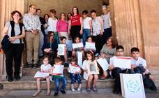 Entrega de premios concurso de dibujo Museo de la Alhambra