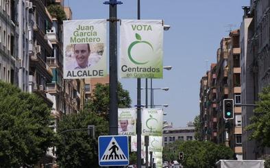 El PP denunciará en la junta electoral el «exceso» de banderolas de García Montero