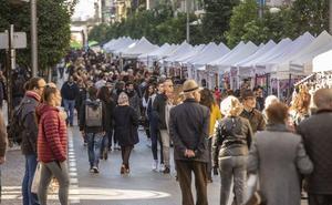 La calle Recogidas vuelve a celebrar otro 'Domingo sin coche'