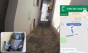 La 'trampa' del GPS en el Albaicín que puede dañar tu coche