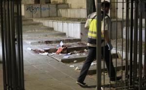 Las imágenes del lugar del suceso y de la detención del presunto agresor