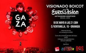 IU proyecta este sábado en Granada el cortometraje GAZA como acto de boicot a Eurovisión
