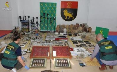 Diez detenidos por expolio y venta de bienes arqueológicos en Granada, Sevilla y Cádiz