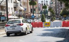 Cortes de tráfico este sábado y domingo en Granada por una procesión y una carrera