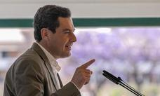Moreno recuerda a Sánchez que «Andalucía también existe» tras proponer a catalanes para presidir Congreso y Senado
