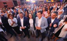 Arrimadas y Salvador (Cs) piden el voto para que Granada «no sea otra sede del PSOE»