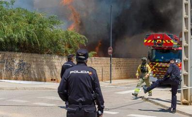 En libertad el detenido por maltratar a la mujer que falleció en el incendio de Ibiza