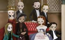 'Voces de la Historia', un libro ilustrado para contar la vida de ocho personajes granadinos