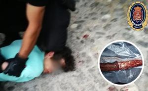 A prisión sin fianza el hombre acusado de apuñalar a su expareja en el centro de Granada