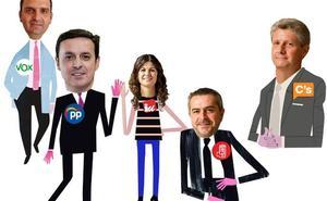 Una Diputación a lo Simeone: voto a voto, escaño a escaño