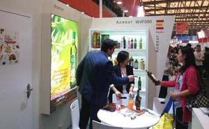 Aceites Maeva muestra su producto en la Sial China