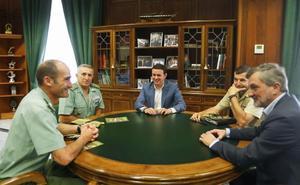 Diputación y las Fuerzas Armadas colaboran en la prevención de las drogodependencias