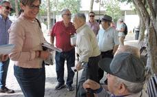 El PSOE dice a los mayores que cuenten con ellos para vivir esa etapa con plenitud