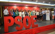 Carmen Calvo pide el voto para el PSOE de Martos