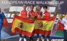 La selección española de marcha arrasa en la Copa de Europa