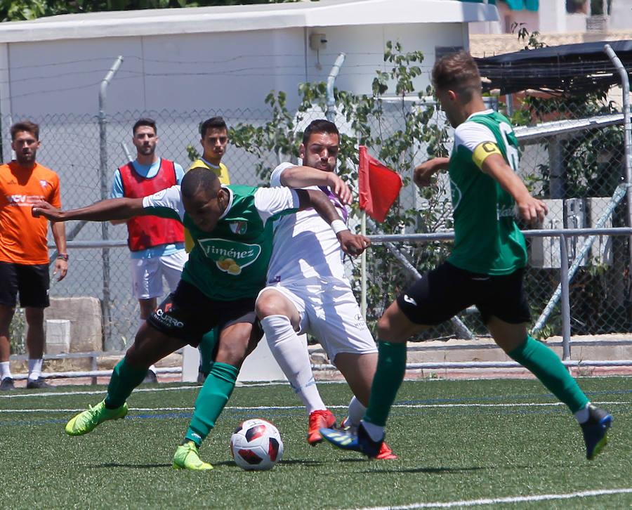 El Real Jaén endosa media docena de goles al Huétor Vega para cerrar la temporada, 1-6
