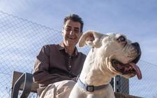 Antonio Cambril, un día de perros