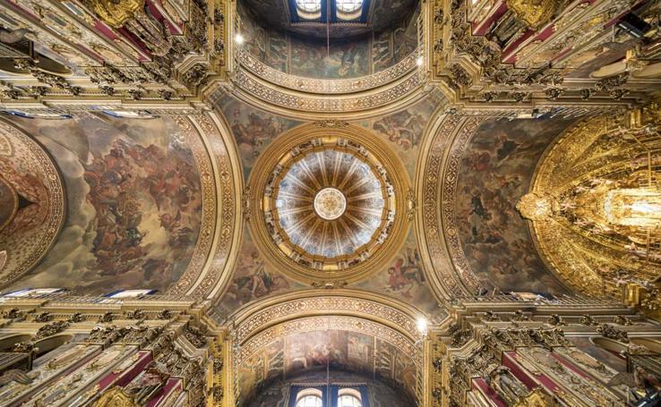 Los techos más impresionantes de los monumentos de Granada