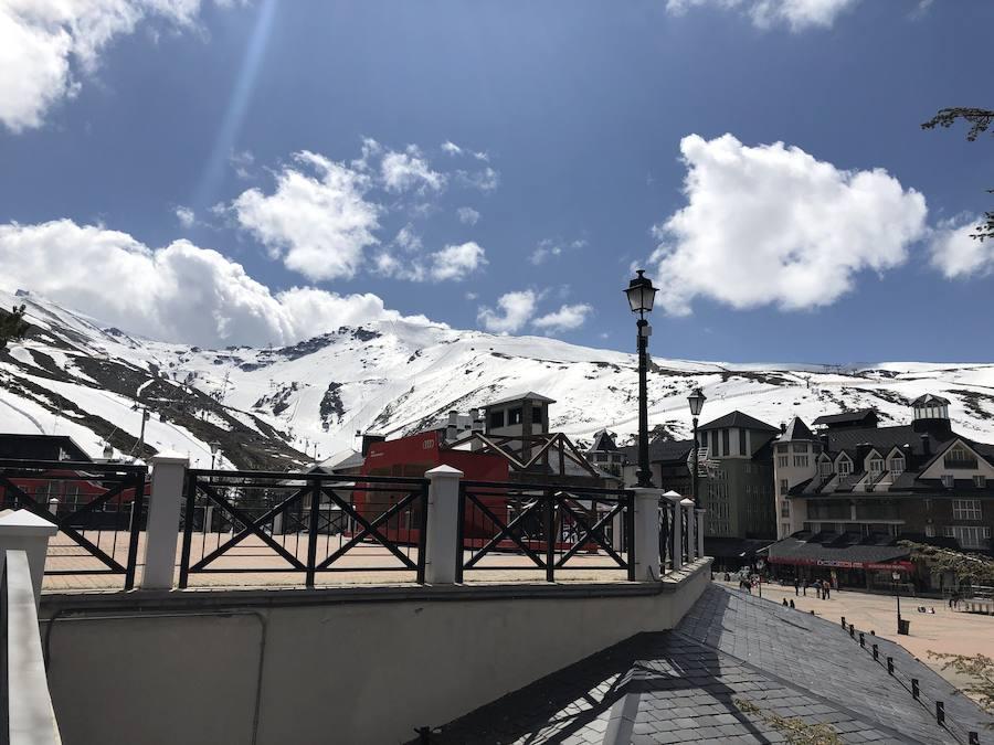 Sierra Nevada, combinación perfecta: gran estación de esquí con el mejor Wi-Fi