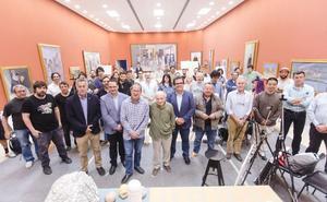 Antonio López convierte a Olula del Río en epicentro internacional de realismo