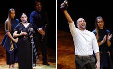 Eva Yerbabuena y Daniel Doña, premiados en los Max