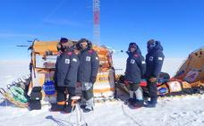 El trineo de viento logra sus objetivos científicos en la Antártida