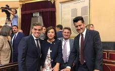 Los senadores granadinos toman posesión del cargo