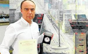 José Domínguez recibe el premio Lorenzo de Medici