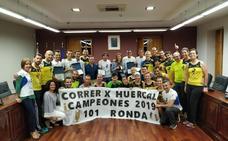 'Correr por Huércal', segundo en los 101 kilómetros de Ronda