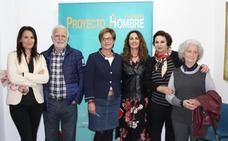 Valverde visita Proyecto Hombre para recoger las necesidades de los usuarios y familiares