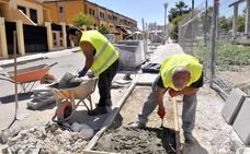 Satisfacción vecinal en Linares por el avance a buen ritmo de las obras en los diferentes barrios