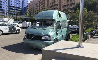 Depositan los 680.000 euros que iban en la furgoneta en un banco de Málaga