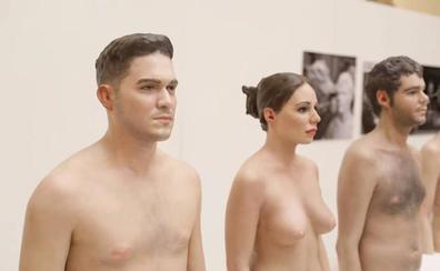 Esculturas desnudas, las primeras obras del futuro Museo del Realismo Español de Almería