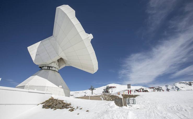 Visita al radiotelescopio de Sierra Nevada