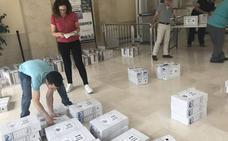 Abren con normalidad las mesas electorales en Jaén
