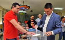 Candidatos votando en los principales pueblos de la provincia