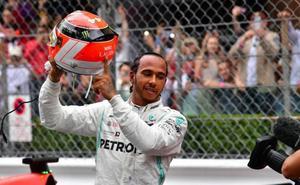 Hamilton brinda su victoria más sufrida a Niki Lauda