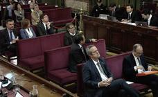 El juicio parte en dos a los líderes del procés